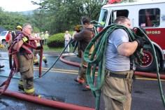House Fire, 40-42 West Water Street, US209, Coaldale, 8-4-2015 (736)