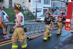 House Fire, 40-42 West Water Street, US209, Coaldale, 8-4-2015 (768)