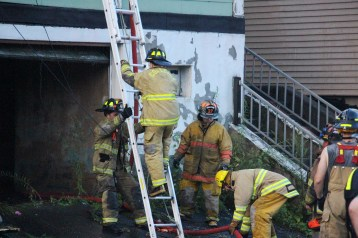 House Fire, 40-42 West Water Street, US209, Coaldale, 8-4-2015 (773)