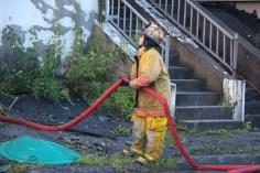 House Fire, 40-42 West Water Street, US209, Coaldale, 8-4-2015 (781)