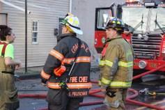 House Fire, 40-42 West Water Street, US209, Coaldale, 8-4-2015 (785)