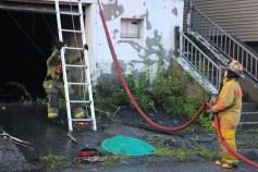House Fire, 40-42 West Water Street, US209, Coaldale, 8-4-2015 (786)