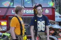 House Fire, 40-42 West Water Street, US209, Coaldale, 8-4-2015 (787)