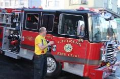 House Fire, 40-42 West Water Street, US209, Coaldale, 8-4-2015 (797)