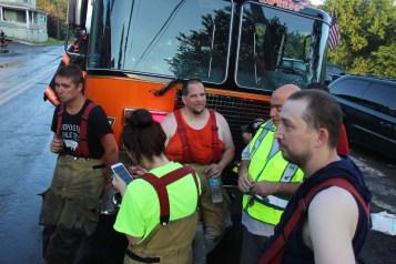 House Fire, 40-42 West Water Street, US209, Coaldale, 8-4-2015 (801)