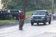 House Fire, 40-42 West Water Street, US209, Coaldale, 8-4-2015 (810)