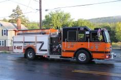 House Fire, 40-42 West Water Street, US209, Coaldale, 8-4-2015 (812)