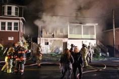 House Fire, 40-42 West Water Street, US209, Coaldale, 8-4-2015 (82)