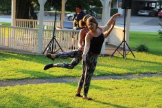 Music In The Park, Salvation Army performs, via Lansford Alive, Kennedy Park, Lansford (125)