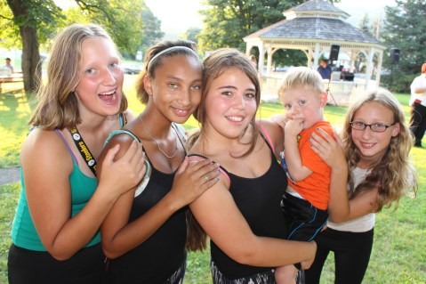 Music In The Park, Salvation Army performs, via Lansford Alive, Kennedy Park, Lansford (132)