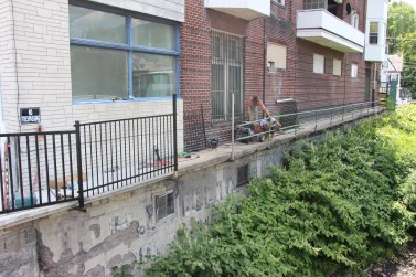 New Fence Along Little Schuylkill River, East Broad Street, Tamaqua (4)