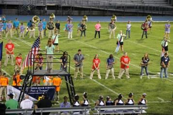 Raider Marching Band during Fall Meet The Raiders, TASD Sports Stadium, Tamaqua, 8-26-2015 (105)