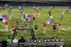 Raider Marching Band during Fall Meet The Raiders, TASD Sports Stadium, Tamaqua, 8-26-2015 (134)