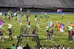 Raider Marching Band during Fall Meet The Raiders, TASD Sports Stadium, Tamaqua, 8-26-2015 (146)