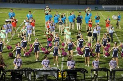 Raider Marching Band during Fall Meet The Raiders, TASD Sports Stadium, Tamaqua, 8-26-2015 (237)