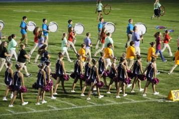Raider Marching Band during Fall Meet The Raiders, TASD Sports Stadium, Tamaqua, 8-26-2015 (258)