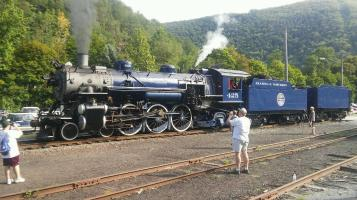 Reading and Northern Railroad, No 425 Steam Engine, from Dale Freudenberger, Jim Thorpe, 8-22-2015 (