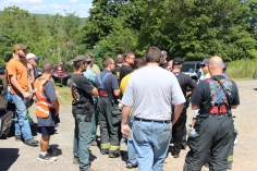Search for Missing Man, South Ward Mountain, Tamaqua, 8-13-2015 (175)