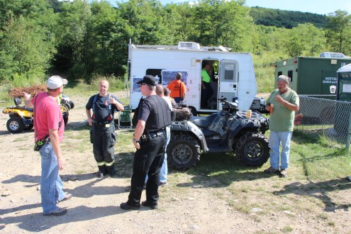 Search for Missing Man, South Ward Mountain, Tamaqua, 8-13-2015 (258)