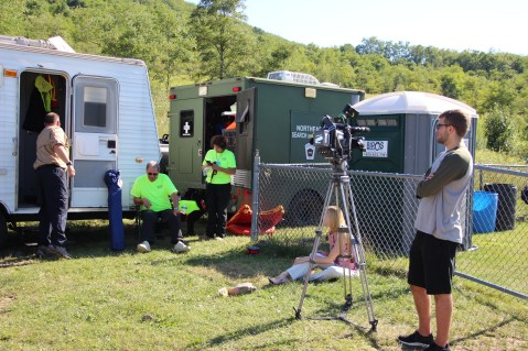 Search for Missing Man, South Ward Mountain, Tamaqua, 8-13-2015 (276)