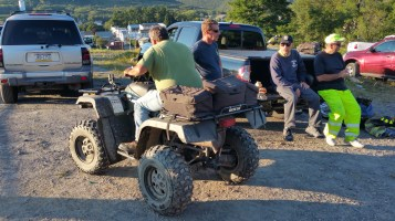 Search for Missing Man, South Ward Mountain, Tamaqua, 8-13-2015 (330)
