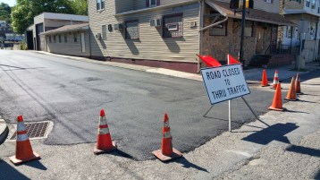 Spruce Street Construction Almost Complete, Tamaqua, 8-21-2015 (5)