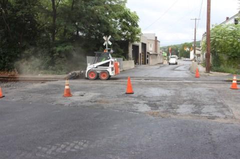 Spruce Street Construction Complete, Tamaqua, 8-21-2015 (14)