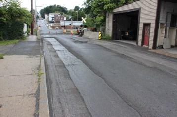 Spruce Street Construction Complete, Tamaqua, 8-21-2015 (29)