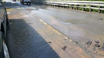 SR309 North to be Closed for Emergency Water Main Repair, Tamaqua, 8-6-2015 (10)