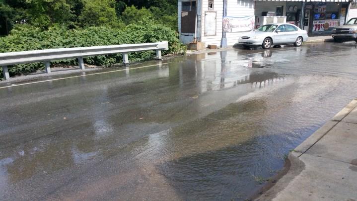 SR309 North to be Closed for Emergency Water Main Repair, Tamaqua, 8-6-2015 (48)