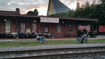 Steve Brosky & Jimmy Meyer, Tamaqua Chamber Summer Concert Series, Train Station, Tamaqua (3)