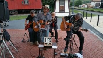 Steve Brosky & Jimmy Meyer, Tamaqua Chamber Summer Concert Series, Train Station, Tamaqua (33)