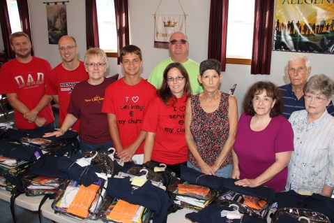 Supplied by Love... Back to School Giveaway, Volunteers, New Life Assembly of God Church (2)