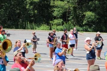 Tamaqua Raider Band Camp, Middle School Parking Lot, Tamaqua, 8-13-2015 (170)