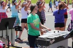 Tamaqua Raider Band Camp, Middle School Parking Lot, Tamaqua, 8-13-2015 (208)