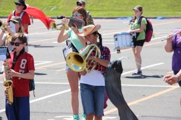 Tamaqua Raider Band Camp, Middle School Parking Lot, Tamaqua, 8-13-2015 (269)