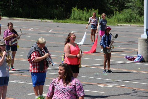 Tamaqua Raider Band Camp, Middle School Parking Lot, Tamaqua, 8-13-2015 (356)