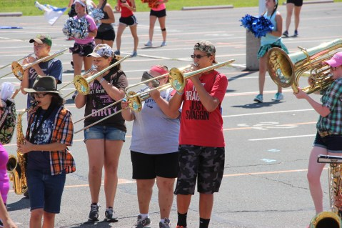 Tamaqua Raider Band Camp, Middle School Parking Lot, Tamaqua, 8-13-2015 (382)