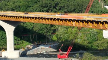 Update, Status of Bridge Work, Construction Status, SR903, Jim Thorpe, 8-23-2015 (8)