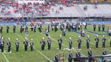 Blue Out Football Game, Benefit for Thelma Urban, Raider Band, Sports Stadium, Tamaqua, 9-4-2015 (117)