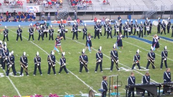 Blue Out Football Game, Benefit for Thelma Urban, Raider Band, Sports Stadium, Tamaqua, 9-4-2015 (126)