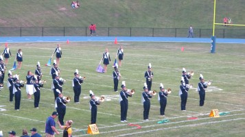 Blue Out Football Game, Benefit for Thelma Urban, Raider Band, Sports Stadium, Tamaqua, 9-4-2015 (171)