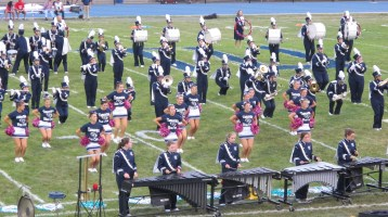 Blue Out Football Game, Benefit for Thelma Urban, Raider Band, Sports Stadium, Tamaqua, 9-4-2015 (186)