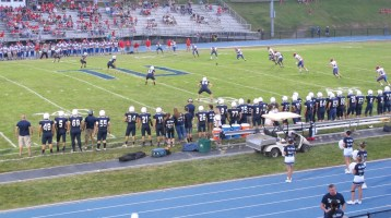 Blue Out Football Game, Benefit for Thelma Urban, Raider Band, Sports Stadium, Tamaqua, 9-4-2015 (278)