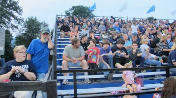Blue Out Football Game, Benefit for Thelma Urban, Raider Band, Sports Stadium, Tamaqua, 9-4-2015 (352)