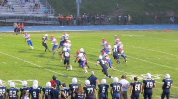 Blue Out Football Game, Benefit for Thelma Urban, Raider Band, Sports Stadium, Tamaqua, 9-4-2015 (388)