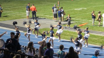 Blue Out Football Game, Benefit for Thelma Urban, Raider Band, Sports Stadium, Tamaqua, 9-4-2015 (434)