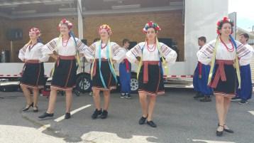 Kazka Ukrainian Folk Ensemble, during Parish Picnic, St. Mary's Ukrainian Catholic Church, McAd (44)