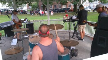 Music in the Park, Rodney Clouser Band, Kennedy Park, Lansford, 8-30-2015 (33)