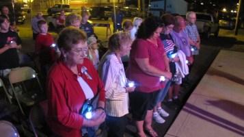 Sept. 11 Remembrance, Memorial Service, Coaldale VFW Post, Coaldale, 9-11-2015 (26)